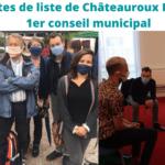 Nos impressions sur le premier conseil municipal
