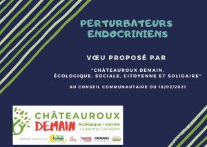 Vœu de Châteauroux Demain au conseil communautaire du 18/02/2021