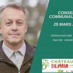 Les interventions de Maxime Gourru au conseil communautaire du 25 mars 2021