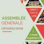 Assemblée Générale le 4 juillet
